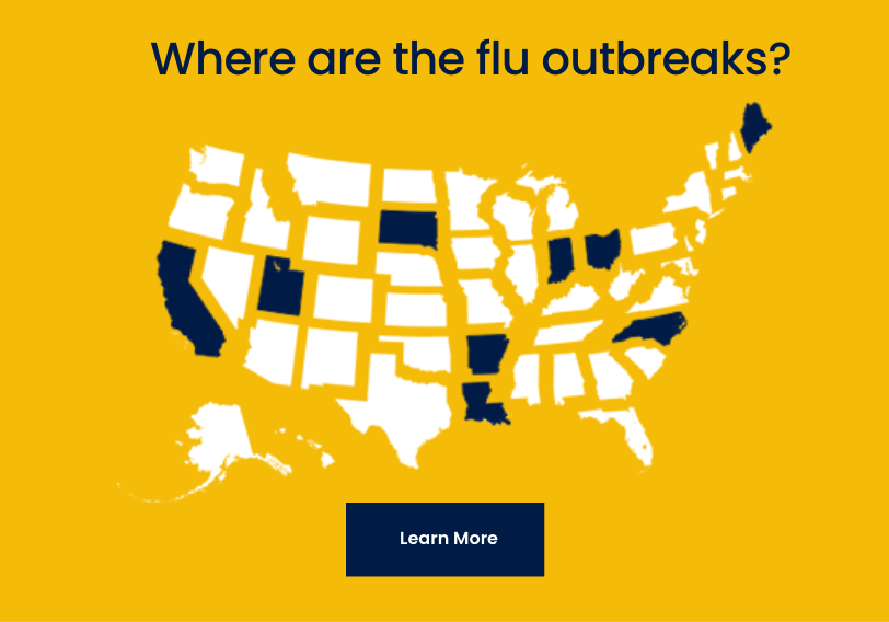 Where are the flu outbreaks, learn more.